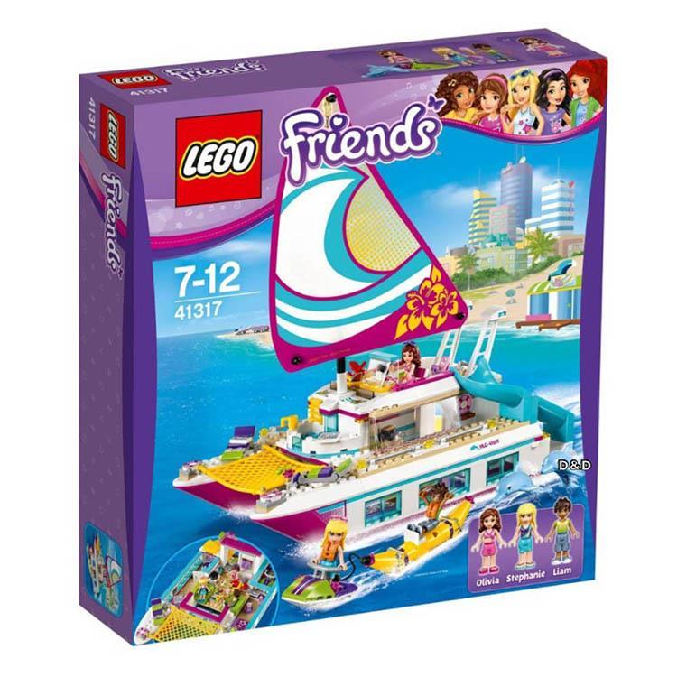 樂高積木 LEGO《 LT 41317 》Friends 姊妹淘系列 - 陽光遊艇