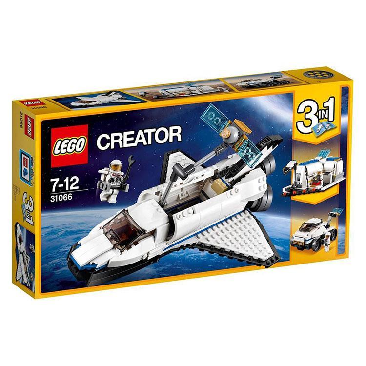 樂高積木 LEGO《 LT 31066 》創意大師 Creator 系列 - 太空梭探險家