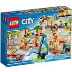 樂高積木 LEGO《 LT60153 》CITY 城市系列 - 沙灘人偶套組
