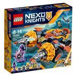 樂高積木 LEGO《 LT70354 》Nexo Knights 未來騎士系列 - 艾克索的碎石坦克
