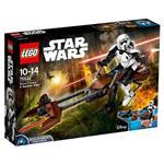 樂高積木 LEGO《 LT75532 》STAR WARS 星際大戰系列-帝國偵查兵與反重力機車