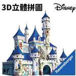 216片 迪士尼 城堡 3D拼圖 立體拼圖 德國製 維寶 Ravensburger 冰雪奇緣 玩具總