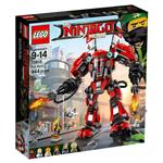 樂高積木 LEGO《 LT70615 》 NINJAGO 旋風忍者系列 - 忍者火焰機甲人