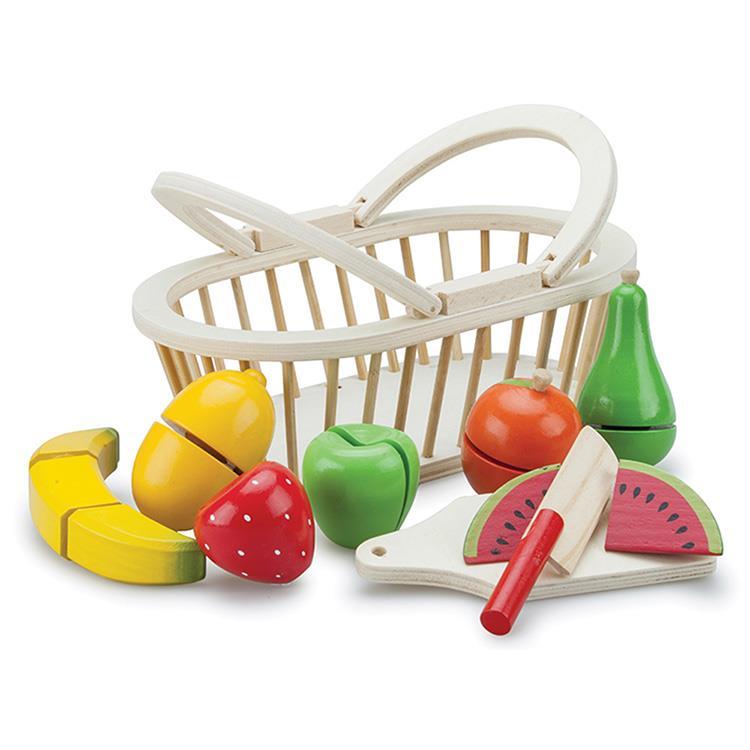 《 荷蘭 New Classic Toys 》水果籃切切樂