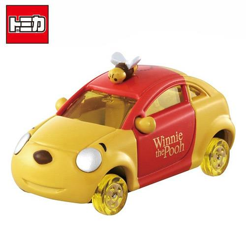 TOMICA DM-18 小熊維尼 蜂蜜車 蜂蜜輪 玩具車 多美小汽車 DISNEY MOTORS