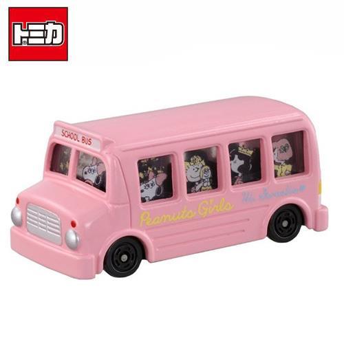 Dream TOMICA 史努比 粉紅巴士 多美小汽車 Snoopy 巴士 玩具車