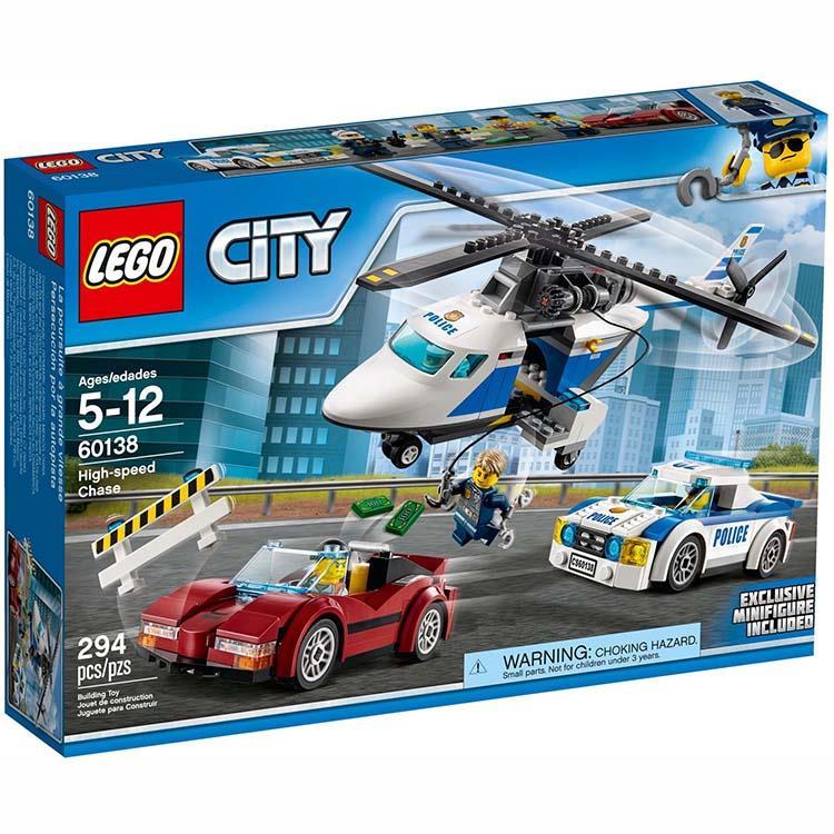 樂高積木 LEGO《 LT 60138 》City 城市系列 - 高速追捕
