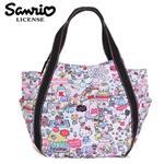 Hello Kitty x MANUFATTO 兩用 托特包 肩背包 手提袋 凱蒂貓 三麗鷗