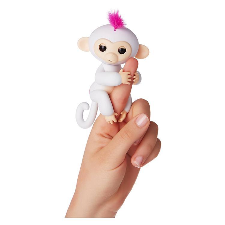 【 Fingerlings 】互動寵物猴 - 手指猴 白 正版