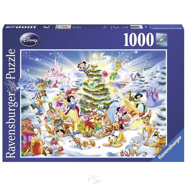 【德國Ravensburger拼圖】迪士尼的聖誕節-1000片 Disney Christmas