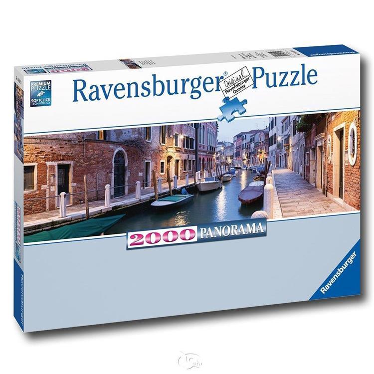 【德國Ravensburger拼圖】威尼斯之夜-全景拼圖-2000片Evening in Venic
