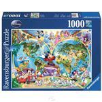 【德國Ravensburger拼圖】迪士尼世界地圖-1000片 Disney: World Map