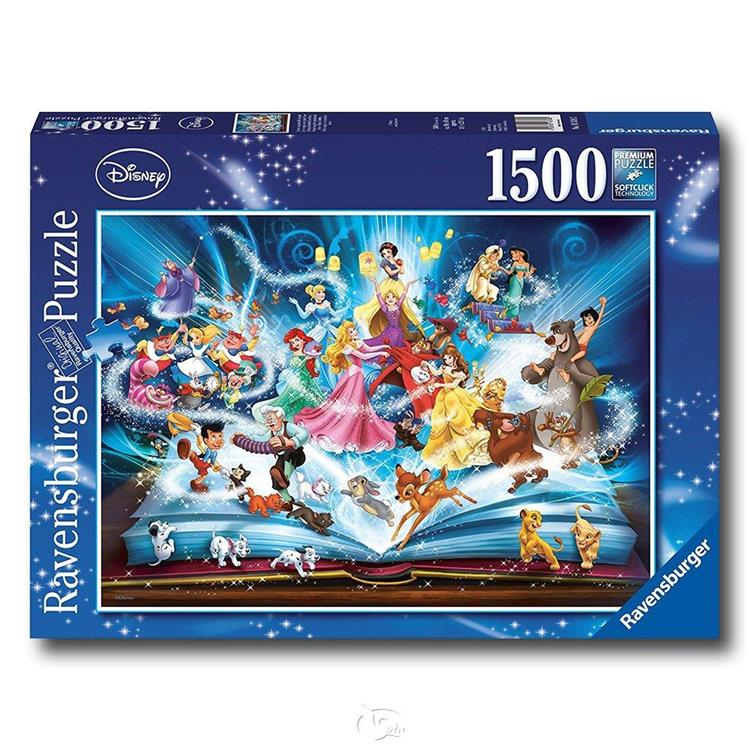 【德國Ravensburger拼圖】迪士尼故事書-1500片 Disney Storybook