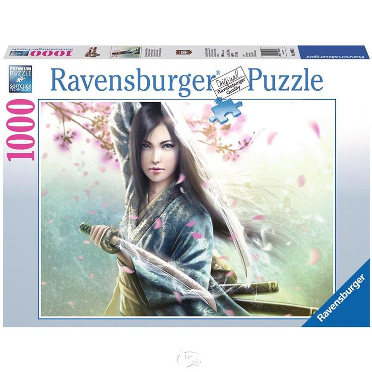 【德國Ravensburger拼圖】情書:五環傳奇-1000片 Mujer Samurai