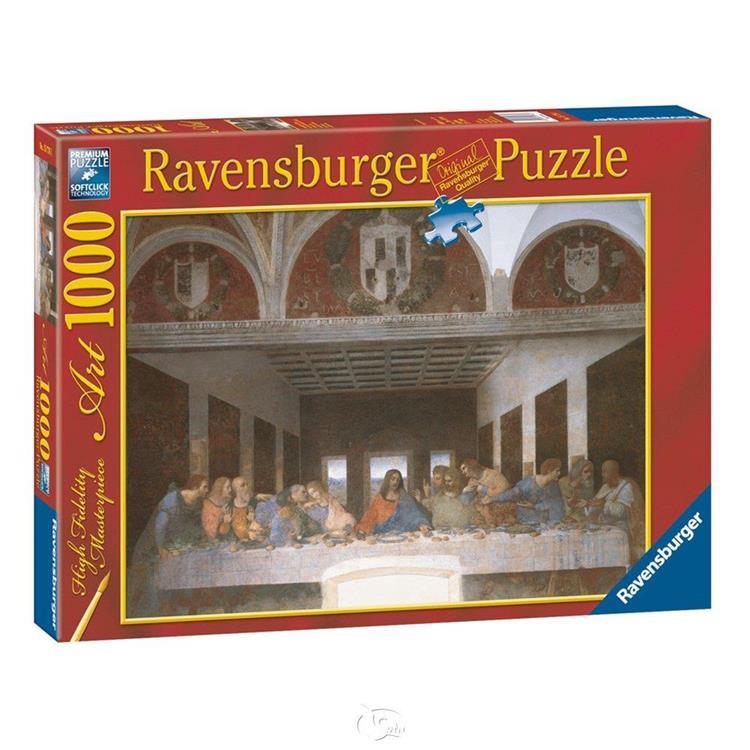【德國Ravensburger拼圖】達文西:最後的晚餐-1000片