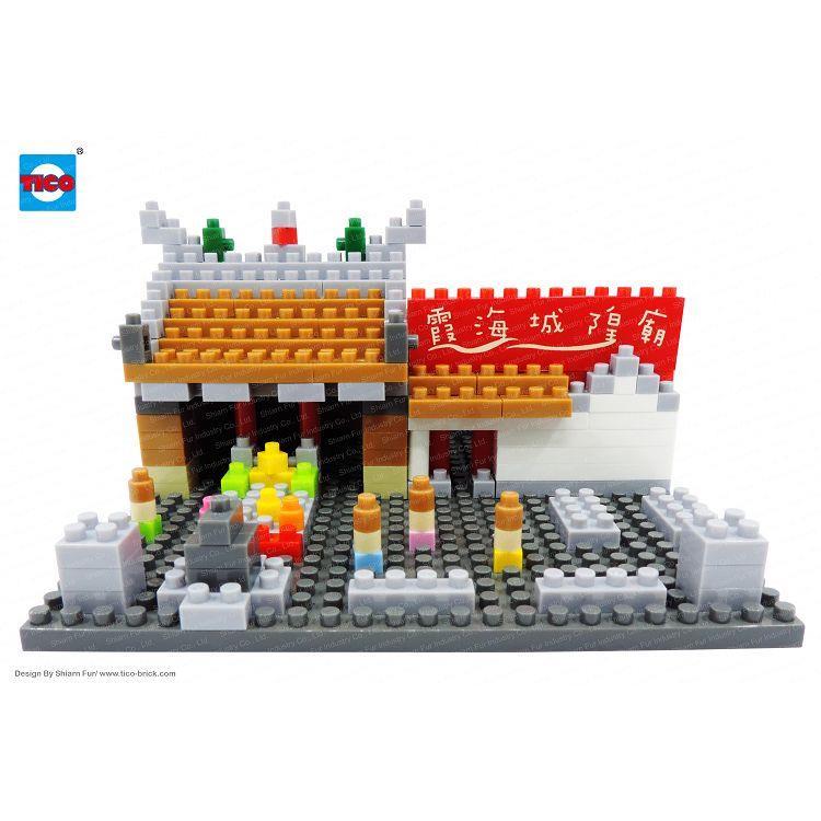 【TICO微型積木】台灣好遊趣-霞海城隍廟