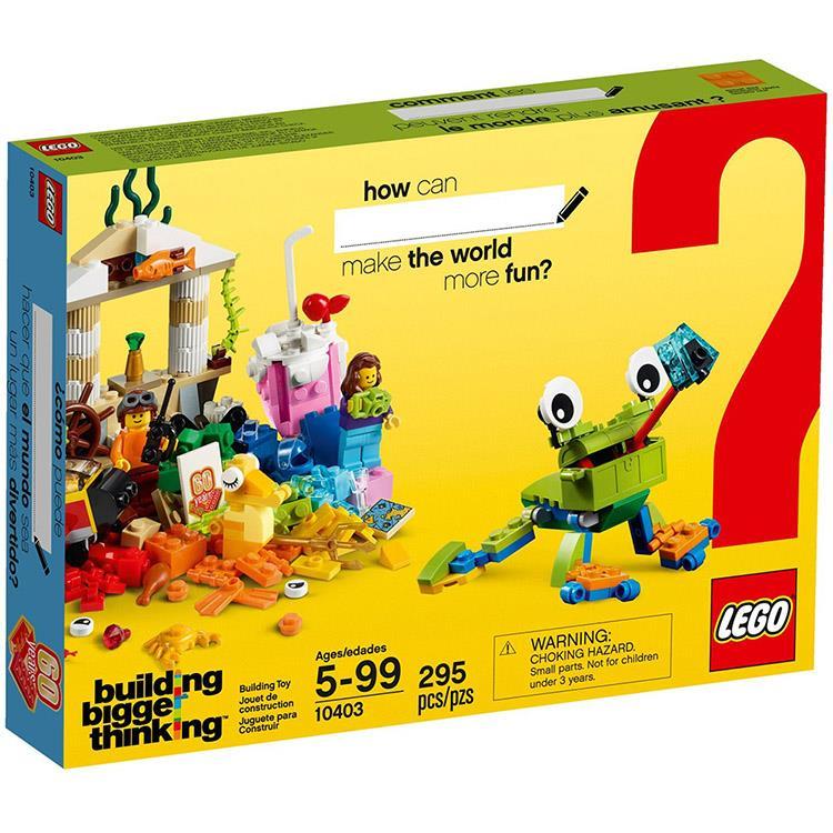 樂高積木 LEGO《 LT10403 》60 周年紀念顆粒系列 - 世界歡樂