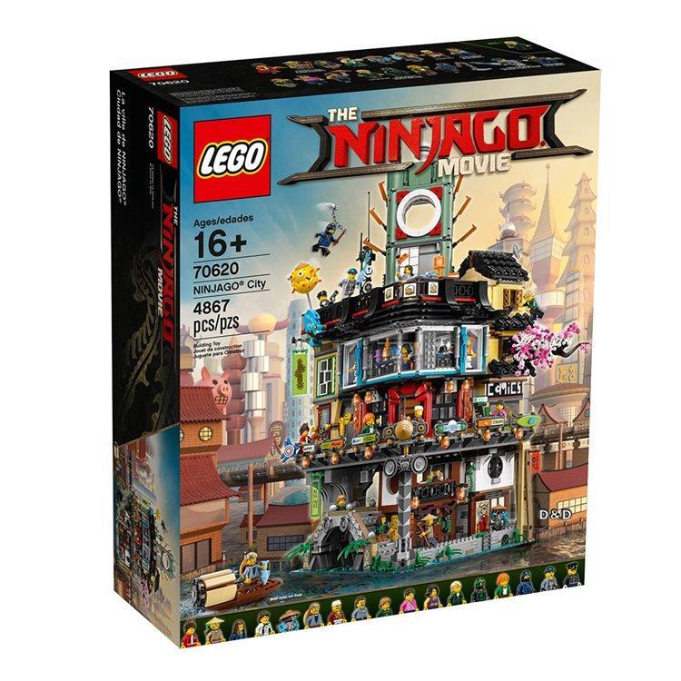 樂高積木 LEGO《 LT70620 》 NINJAGO 旋風忍者系列 - 旋風忍者城