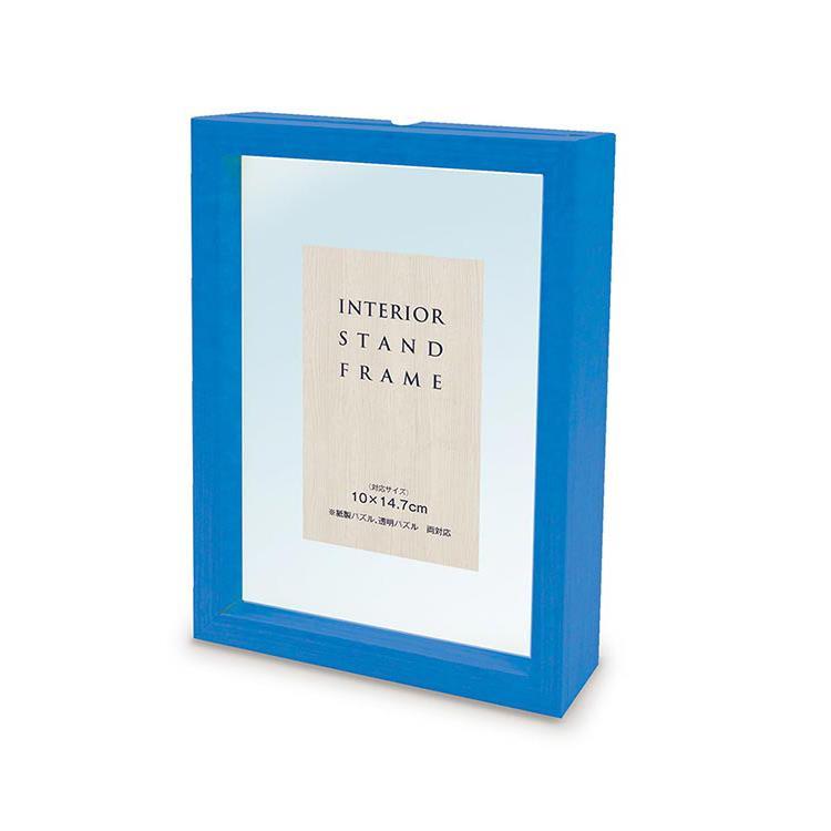 10**14.7cm 日系/迷你片專用藍色木框