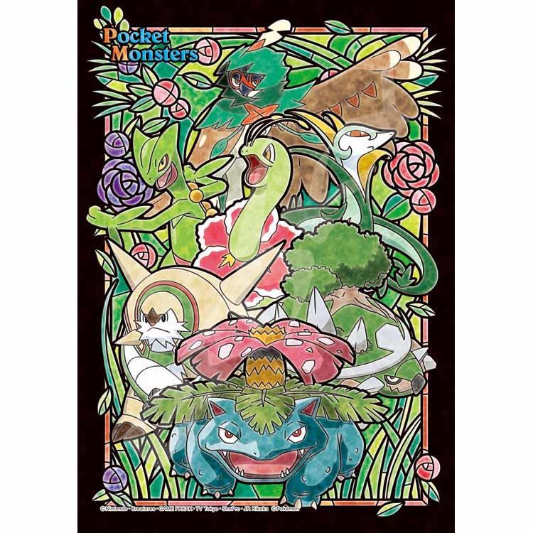 寶可夢 神奇寶貝-草系 日系/208P塑膠拼圖