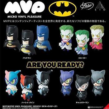 4個一組 MVP 蝙蝠俠 造型公仔 盒玩 擺飾 小丑女 小丑 貓女 DC漫畫