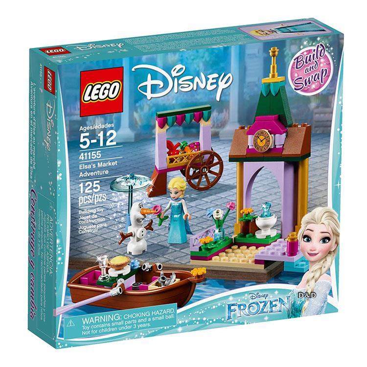 樂高積木 LEGO《 LT41155 》迪士尼公主系列 - 冰雪奇緣 艾莎的市場奇遇