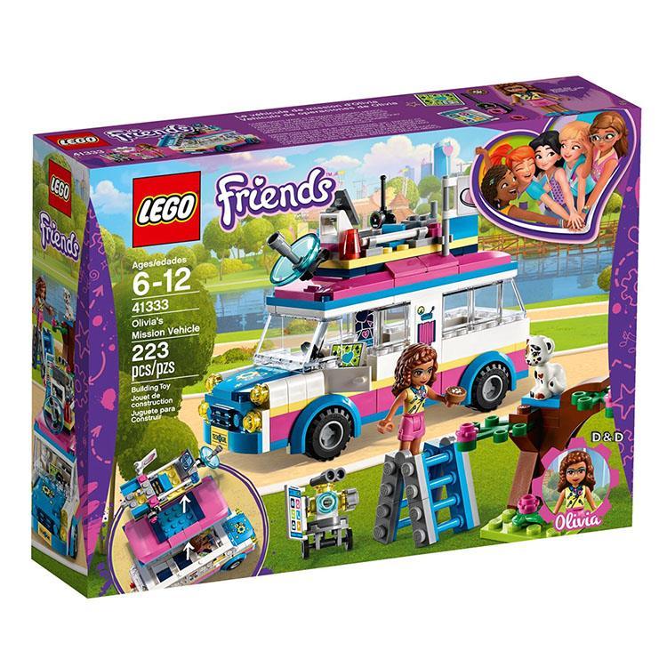 樂高積木 LEGO《 LT41333 》Friends 姊妹淘系列 - 奧麗薇亞的勤務車