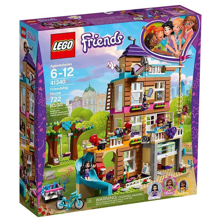 樂高積木 LEGO《 LT41340 》Friends 姊妹淘系列 - 友誼之家