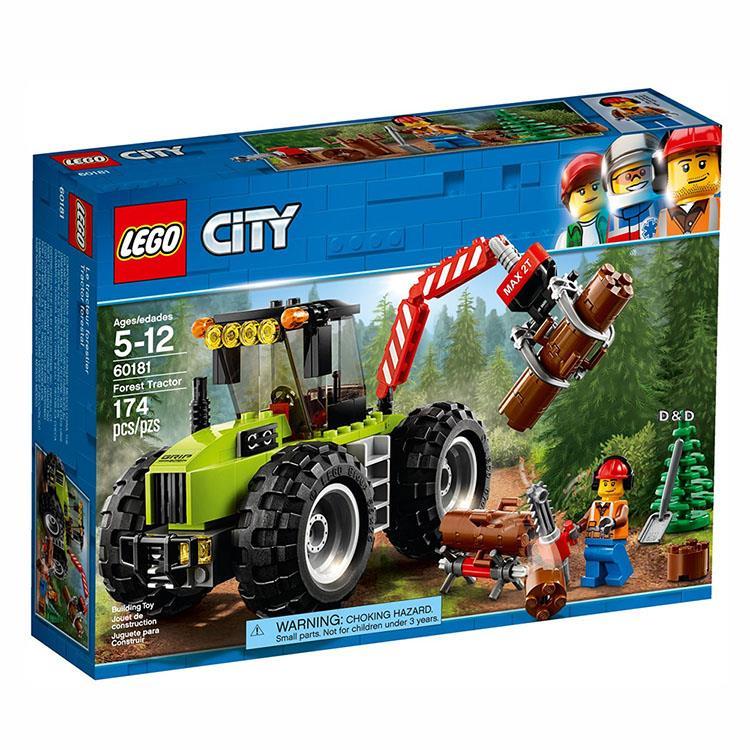 樂高積木 LEGO《 LT 60181 》City 城市系列 - 森林拖拉機