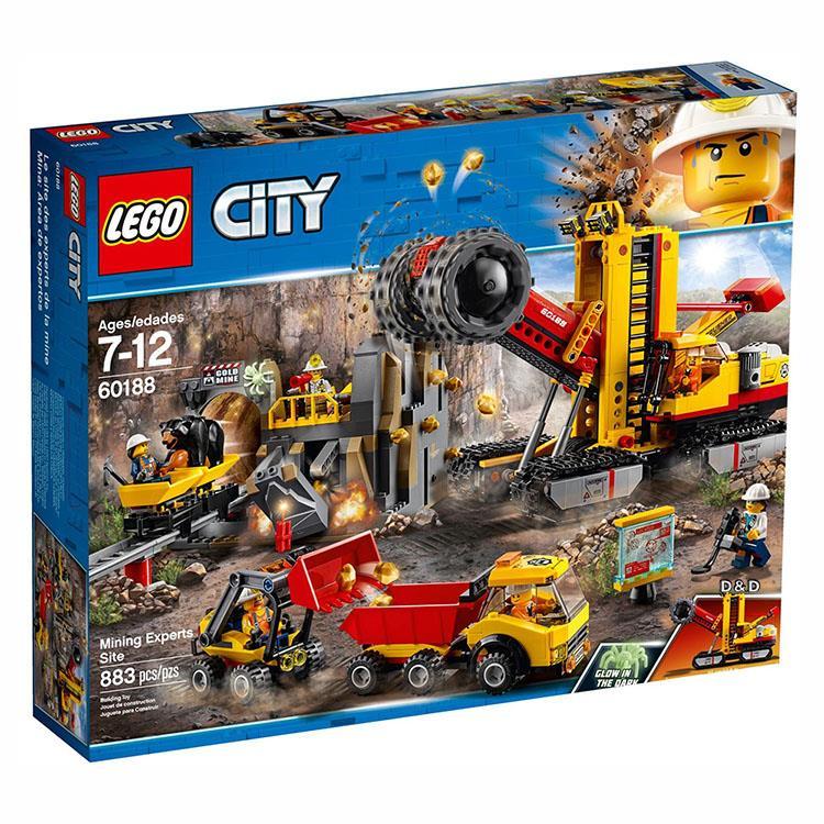 樂高積木 LEGO《 LT 60188 》City 城市系列 - 採礦專家現場