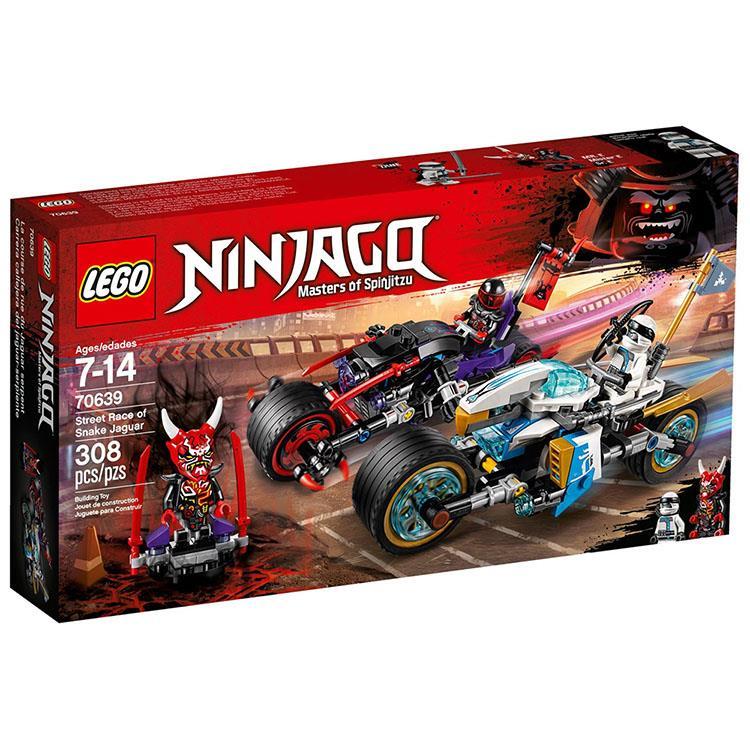樂高積木 LEGO《 LT 70639 》 NINJAGO 旋風忍者系列 - 蛇捷豹街頭大車拚