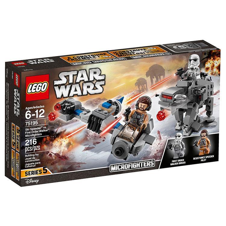 樂高積木 LEGO《 LT 75195 》STAR WARS 星際大戰系列 - 雪地穿梭機對戰第一軍團