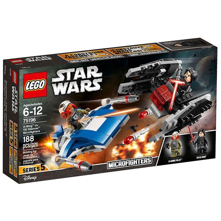 樂高積木 LEGO《 LT75196 》STAR WARS 星際大戰系列 - A翼戰機對戰鈦寂靜者