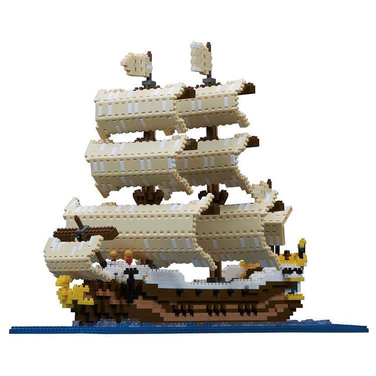 《 Nano Block 迷你積木 》NB - 030 帆船