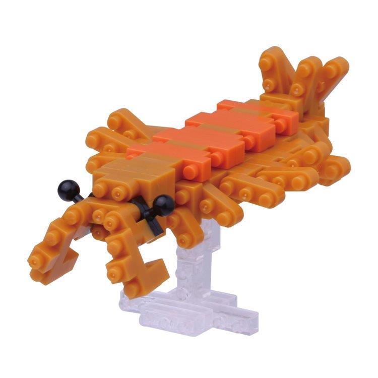 《 Nano Block 迷你積木 》NBC - 189 奇蝦