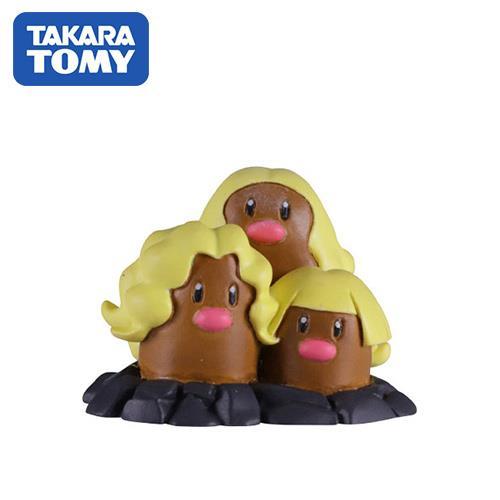 三地鼠 寶可夢 造型公仔 阿羅拉 特化版 MONCOLLE-EX 神奇寶貝