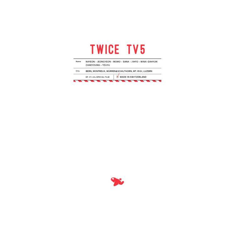 TWICE TV5 / TWICE in SWITZERLAND DVD