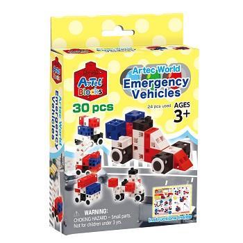 ARTEC童樂包Emergency Vehicles救援小隊