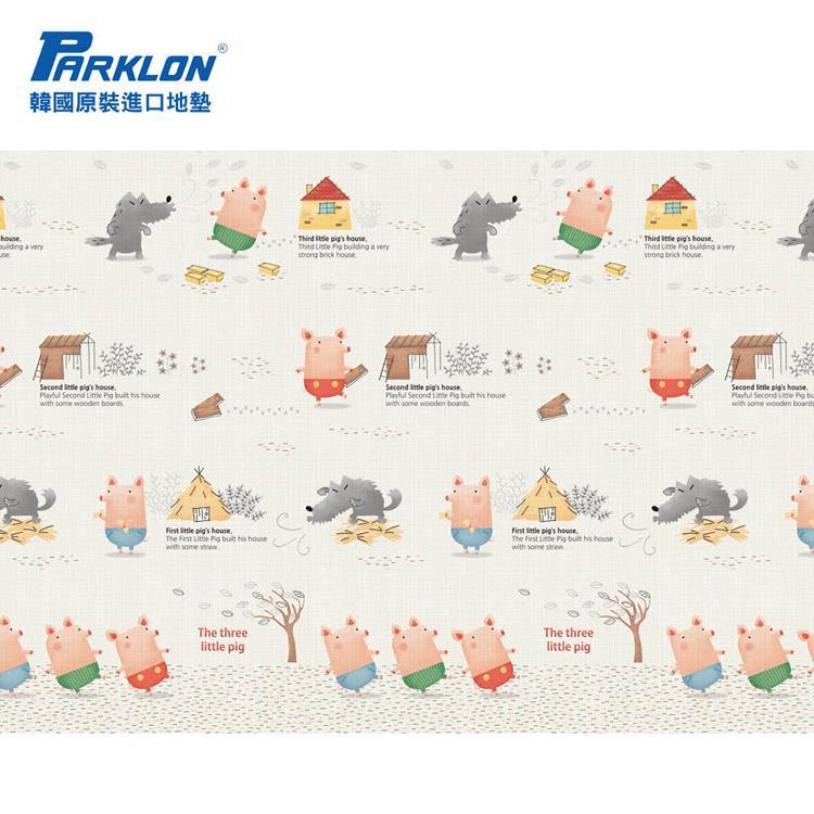 【虎兒寶】PARKLON 韓國帕龍無毒地墊 - 單面切邊【三隻小豬】