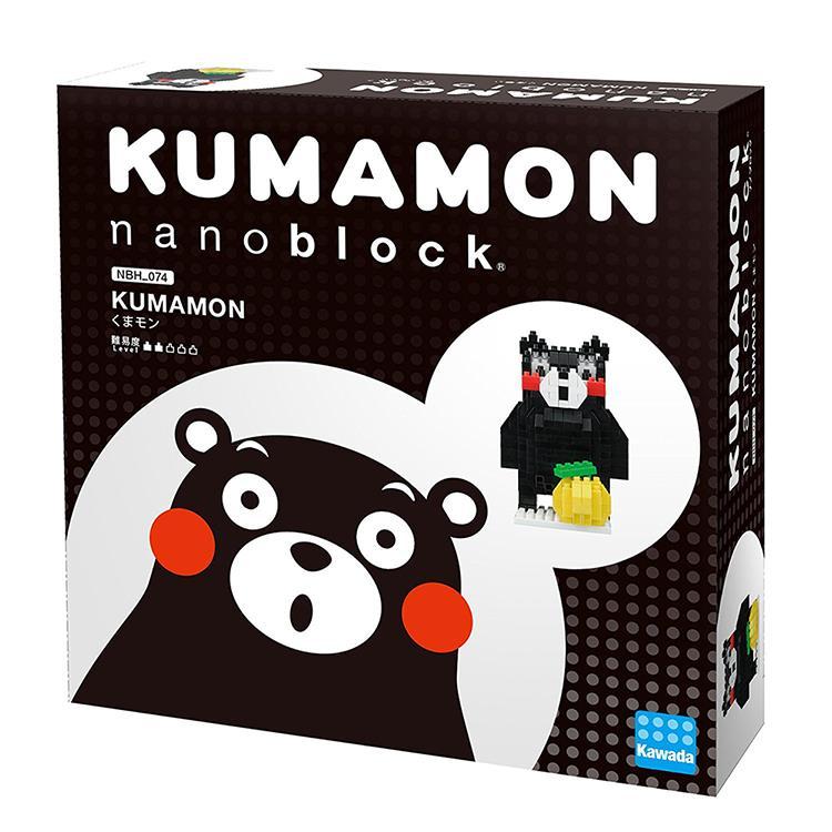 《 Nano Block 迷你積木 》NBH-074 熊本熊