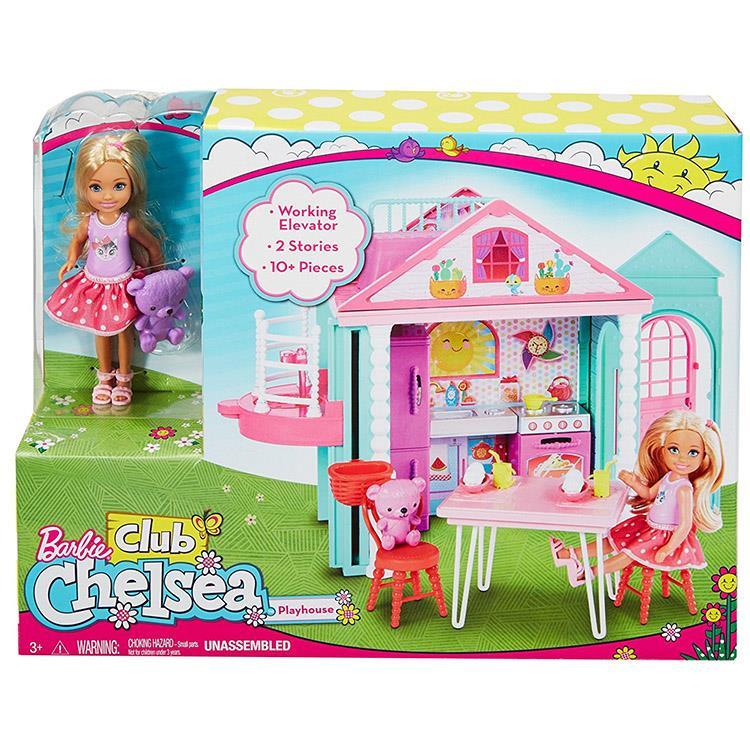 《 MATTEL - Barbie 》芭比雀兒喜雙層屋