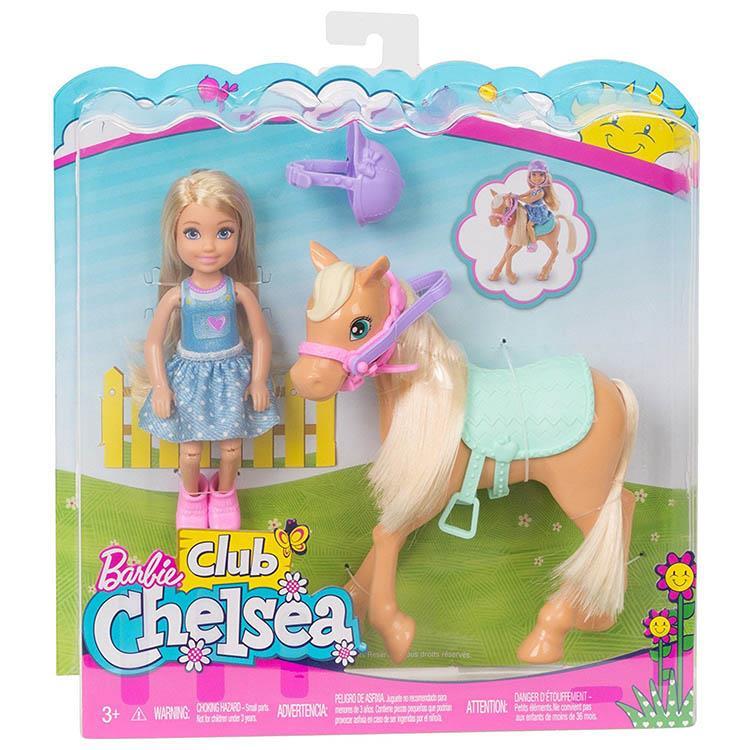 《 MATTEL - Barbie 》雀兒喜與寵物小馬