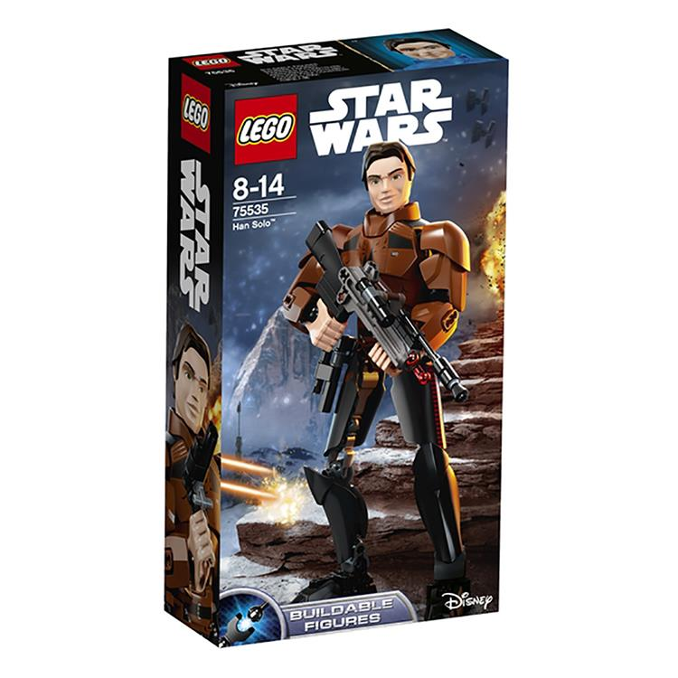 樂高積木 LEGO《 LT75535 》STAR WARS 星際大戰 - Han Solo