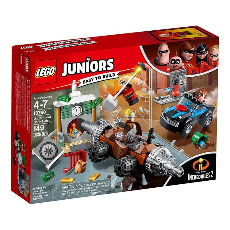 樂高積木 LEGO《 LT 10760  》Junior 初學級系列- Underminer Bank