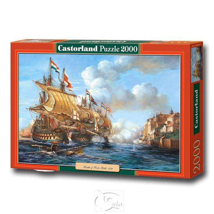 【波蘭Castorland拼圖】1739年波爾圖貝洛戰役-2000片