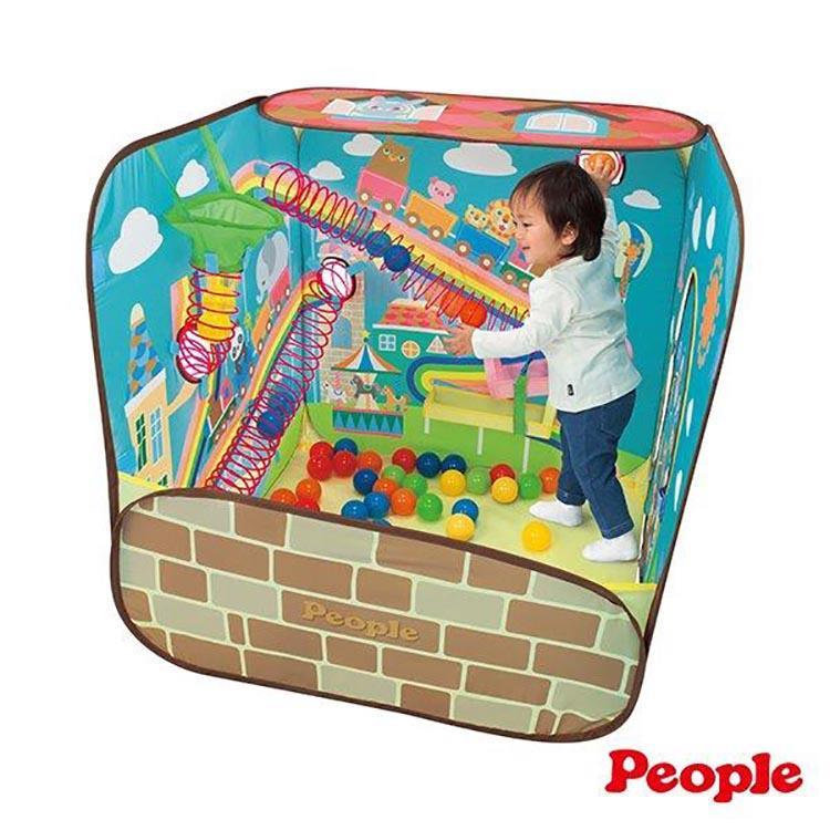 《 People 》腦力體力激盪投球遊戲屋