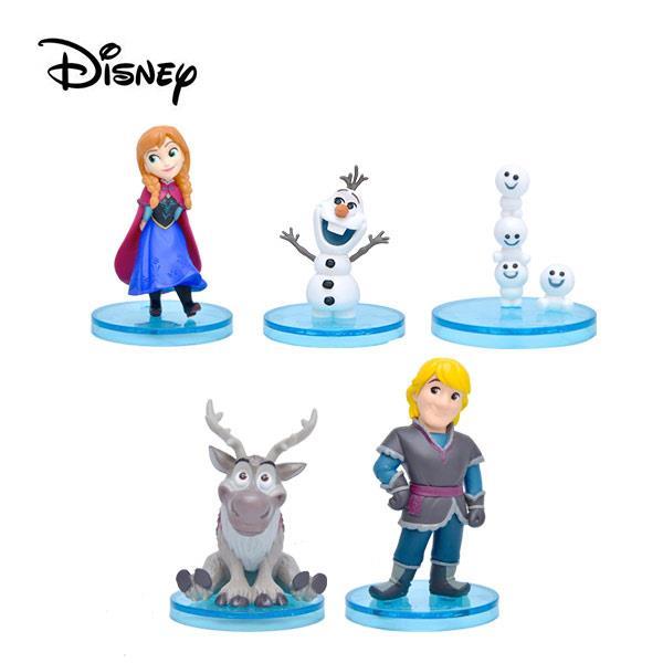 全套5款 冰雪奇緣 WCF story 公仔 模型 安娜 雪寶 迪士尼 Banpresto 萬普