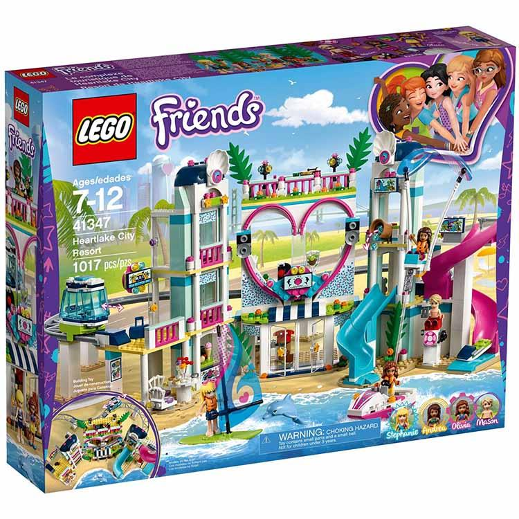 樂高積木 LEGO《 LT 41347 》Friends 姊妹淘系列 - 心湖城渡假村