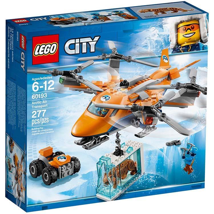 樂高積木 LEGO《 LT 60193  》City 城市系列 - 極地空中運輸機