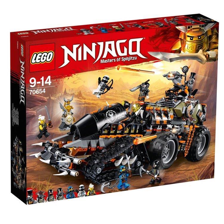 樂高積木 LEGO《 LT 70654 》NINJAGO 旋風忍者系列 - 獵龍戰車